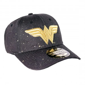 Wonder Woman Cap Shinny Logo