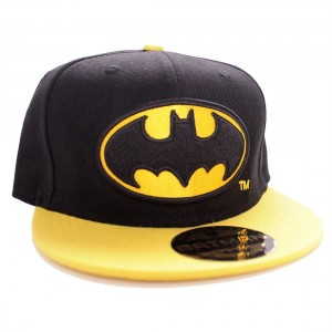 Batman Cap Yellow and Black - Logo