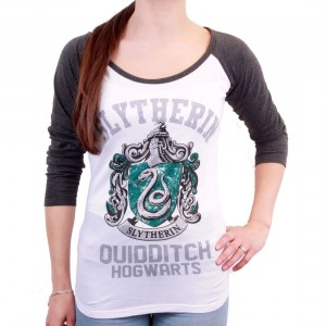 Woman T-shirt Slytherin Quidditch School