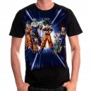 T-shirt Dragon Ball Z groupe DBZ
