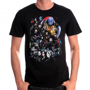 T-shirt Groupe Avengers Infinity Wars