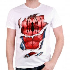 Spider-Man suit t-shirt