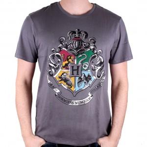 T-shirt Harry Potter 4 Schools Silver