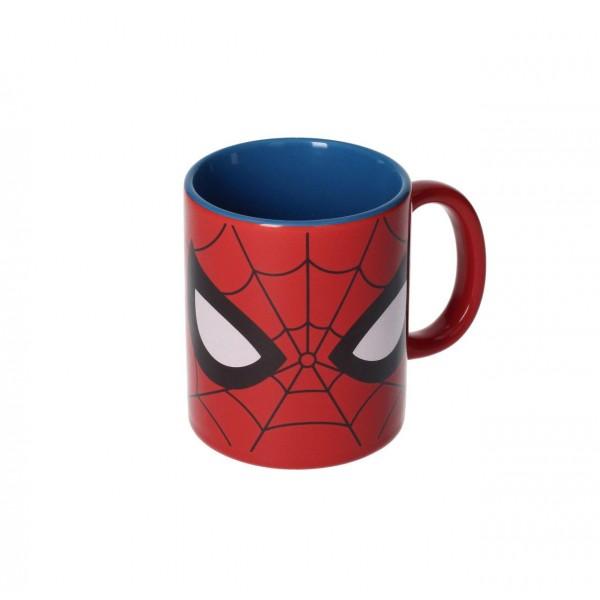 mug rouge spider man. Black Bedroom Furniture Sets. Home Design Ideas