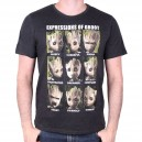 Expressions of Groot T-shirt - Guardians of the Galaxy 2