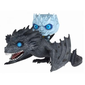 Figurine Night King sur Viserion Pop! Vinyl