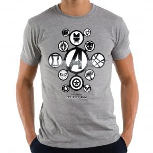 T-shirt Avengers Infinity War Logos