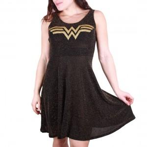 Robe Wonder Woman paillettes shine