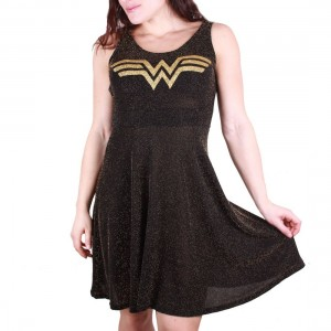 Wonder Woman Dress Shine