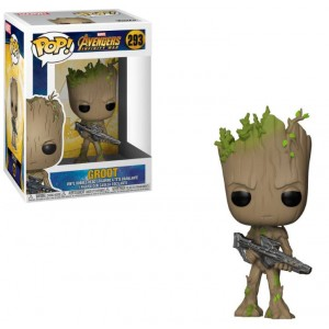 Avengers Infinity War POP! Movies Vinyl figurine Groot 9cm