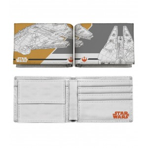 Millennium Falcon Maps Wallet