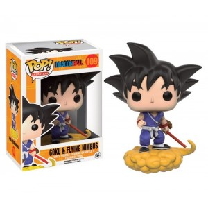 POP! Vinyl Figure Goku & Flying Nimbus 10cm Dragonball Z