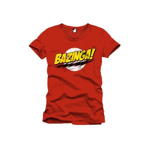 T-shirt Homme Big Bang Theory Bazinga