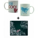 Pack Glee : mug and mouse mat