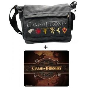 Pack + tapis de souris Game Of Thrones