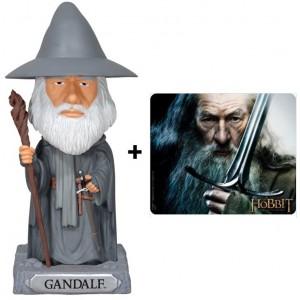 Pack Gandalf : Bobble Head + tapis de souris