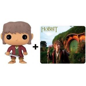 Pack Bilbo : Figurine + tapis de souris