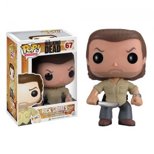 Figurine Rick Grimes de la collection Pop! vinyle