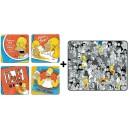 Pack Simpsons : sous-verres + tapis de souris