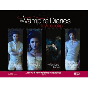 Set de 4 Marque-Pages The Vampire Diaries
