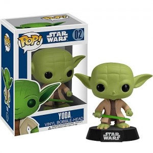 Bobble-Head Yoda collection Pop! Vinyle
