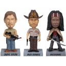 Pack des 3 bobble heads The Walking Dead