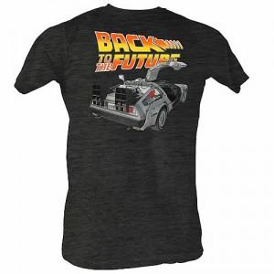 T-shirt DeLorean Retour Vers le Futur