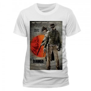 T-Shirt Django Unchained, The D Is Silent