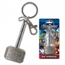Porte-clé Marteau de Thor en métal