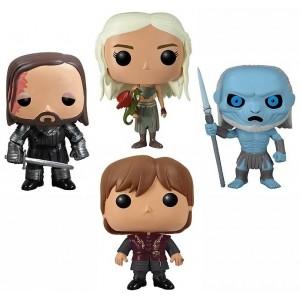 Pack 4 figurines Game Of Thrones (Pop! Vinyle)