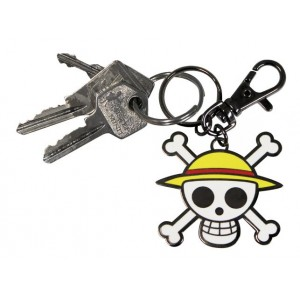 Porte-clé One Piece, Skull