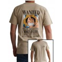 T-Shirt Luffy One Piece : Wanted
