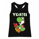 Yoshi black tank top | woman