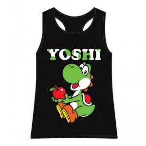 T-shirt Yoshi femme noir