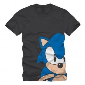 T-shirt Sonic gris