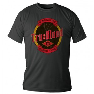 T-shirt True Blood B negative