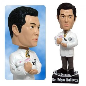 Bobble Head Lost Dr Edgar Halliwax