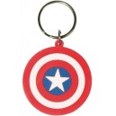 Comics Rubber Acrylic Captain America Shield - Marvel
