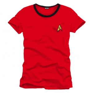 T-shirt Star Trek Uniforme rouge : red shirt