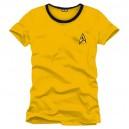 T-shirt Star Trek Uniforme jaune