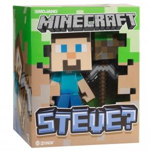 Figurine Steve de Minecraft vinyle 15cm