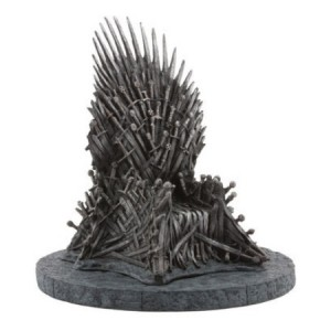 Statuette réplique du trône de fer de Game Of Thrones 18cm