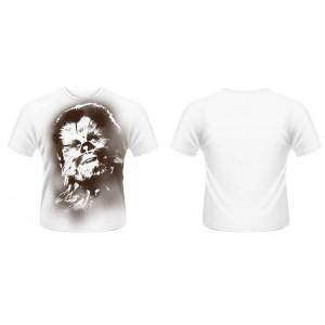 T-shirt Chewbacca blanc