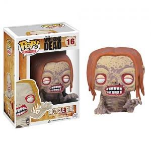 Figurine Pop! Vinyl The Bicycle Girl Zombie, The Walking Dead
