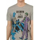 Batman vs Joker T-shirt from the DC Comics