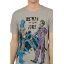 Batman vs Joker T-shirt from the DC Comics