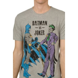 T-shirt Batman vs Joker