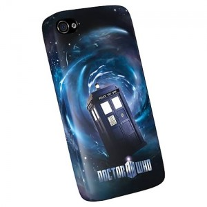 "Coque Iphone 4, 4S et 5 Doctor Who, ""Tardis"""