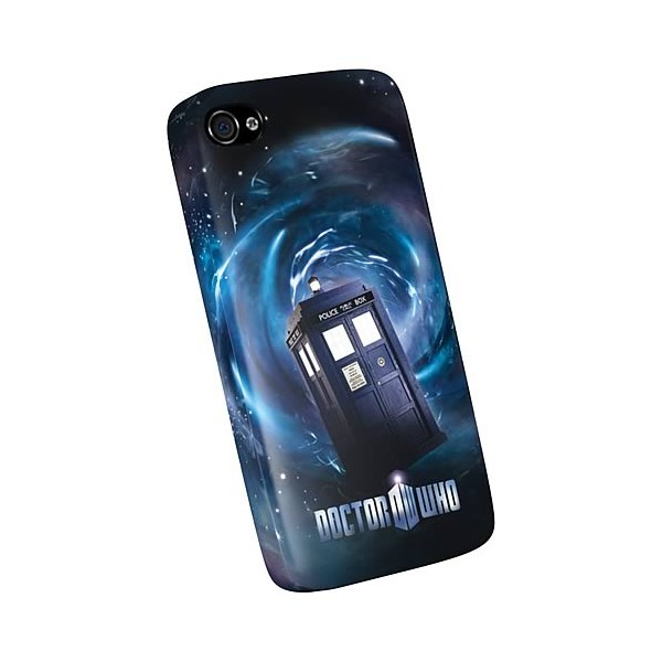 coque iphone 4 4s et 5 doctor who tardis. Black Bedroom Furniture Sets. Home Design Ideas