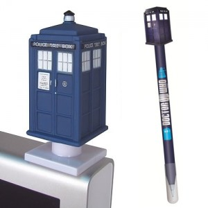 Tardis pack : Pencil + monitor mate